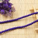 Beads, Glass, Dark blue , Round shape, Diameter 4mm, 40 Beads, [BHB0109]